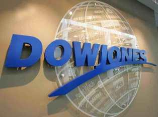 Проблемы Европы провоцируют снижение акций Dow Jones на 0.49%