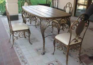 Кованая мебель - красиво, качественно, стильно