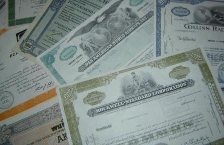Реализация ценных бумаг