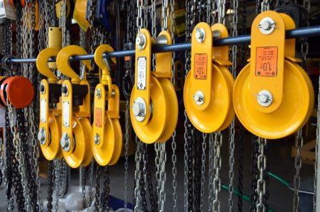 Как производится такелаж промышленного оборудования